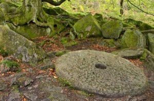 Gritstone millstone