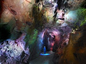 Interior of Masson Cavern at Heights of Abraham