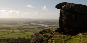 The Roaches - view over Tittesworth Reservoir