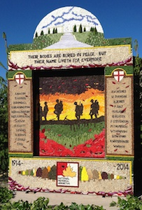 Commemorating 100 years since the start of WW1 (Youlgreave 2014)