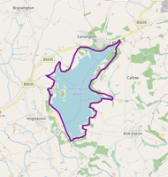 map of carsington water cycling trail
