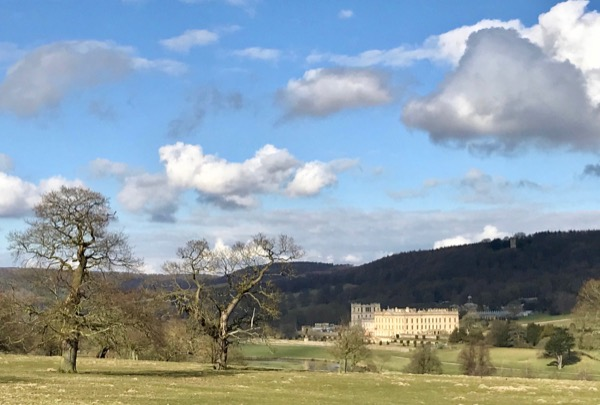 Chatsworth House and the Emperor Fountain