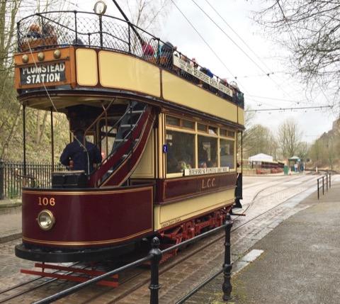 Crich Tramway Village tram