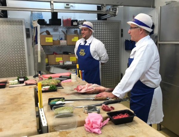 Behind the scenes at the butchery