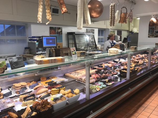Chatsworth Farm Shop deli counter