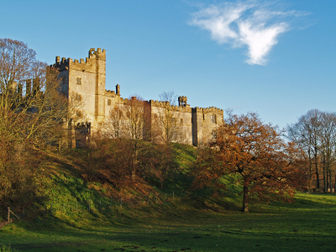 Haddon Hall - location for films such as Jane Eyre