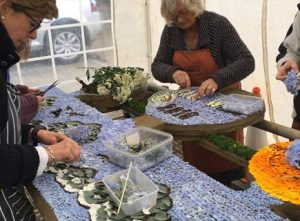 preparation of the well dressing